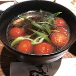 ひだりうま - トマトが一杯