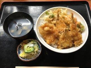 うおふね - 涸沼ミックス丼(850円)