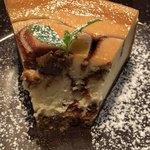 poro珈琲 - 北欧風チーズケーキの断面