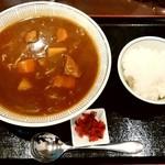 大衆食堂正広 - 大衆食堂正広@三条 カレーラーメンセット(980円)