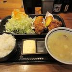 北海道厚岸 - ザンギ定食 1000円