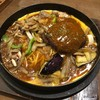 せろり - 料理写真:鉄板コルポチ+ハンバーグ、あんかけソース