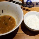 風来居 - 白ご飯(小):100円