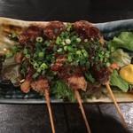 優歩 - 島黒豚生レバーの串カツ