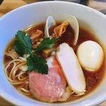 麺堂イズム - イズムラーメン醤油+味玉