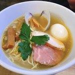麺堂イズム - イズムラーメン塩+味玉