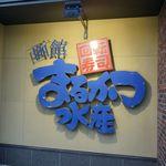 回転寿司函館まるかつ水産 - たまに行くならこんな店は、金森倉庫エリアで美味しいお寿司が楽しめた「回転寿司函館まるかつ水産 本店」です。