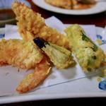 てんまさ - 車海老の天ぷら