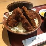 とん亭 - 八重うまっ ソースかつ丼(桜肉)