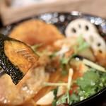 奥芝ール - 野菜も美味しい!