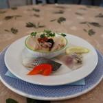サルデーニャ料理とワイン greco - 料理写真:前菜盛り合わせ 10種(一皿目)