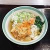 Miyakishimen - 料理写真:白海老掻揚げきしめん
