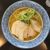 麺屋AMORE - 料理写真:2018年5月 チャーシューバリ鰹らーめん 980円