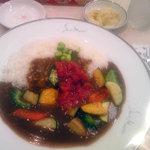 8528062 - 季節の野菜カレー(夏・760円)