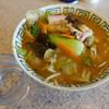 ラーメンハウスとっと - 料理写真:ぴり辛ちゃんぽん麺ミニ(760円)