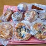 85280155 - 購入したパン類