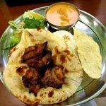 印度料理シタール - タンドリーランチセット(バターチキン)!