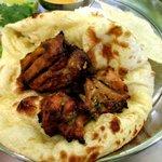 印度料理シタール - チキンティッカ&ローストチキン!