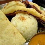 印度料理シタール - 日本米!
