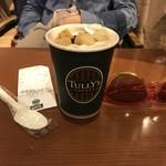 タリーズコーヒー - 2018/05 メープルハニートーストラテ HOT Tall 580円(税込)