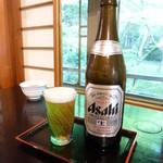阿闍梨寮 寿庵 - 夫はまずビール