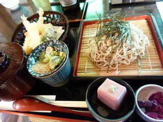 阿闍梨寮 寿庵 - 天ぷらとお蕎麦のセットと思ったら。。