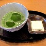 うたせ茶屋 - 料理写真:抹茶(菓子付き)!