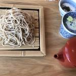 湯あがり食堂 - 長野県産長芋の とろろ蕎麦