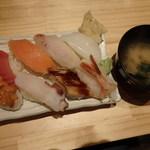 虎杖 - 魚屋の寿司セット