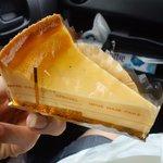 菓匠 最上屋 - 料理写真:ベイクドチーズケーキ260円