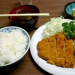 大木洋食店 - とんかつ定食