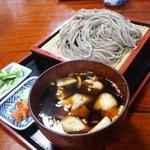 そば処 まるきや - 鴨南蛮蕎麦(900円)