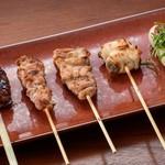 おまかせ串焼き 5種