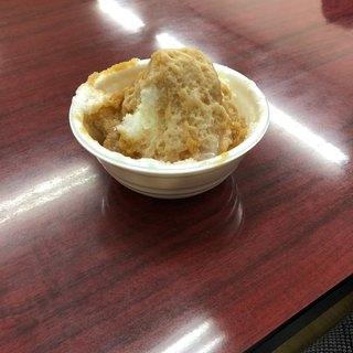 かき氷カワグチ - 料理写真:キャラメルミルク