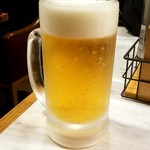ガストンアンドギャスパー - 生ビール:580円