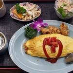 龍鳳 - 料理写真:オムライス