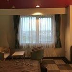 クインテッサホテル伊勢志摩 - 2018/05 ツインルーム…まあまあ広々としている