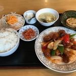 85295479 - 酢豚定食
