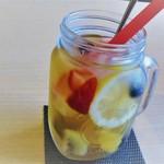 8代葵カフェ - fruit tea