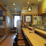 寿司正 - 店内