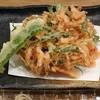 蕎麦cafe 粉々奈 - 料理写真:桜海老のかき揚げ