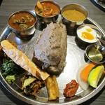 ネパール民族料理 アーガン - タカリデド&ライスセット