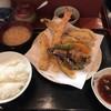 天婦羅 あぶら屋 - 料理写真:大海老あなご定食