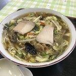 みどりや食堂 - 料理写真:野菜ラーメン 750円