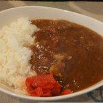 コンパーニョ - 牛スジトマトカレー650円を注文