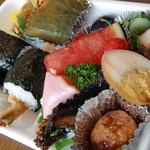 寿加田弁当 - 料理写真:天むす弁当