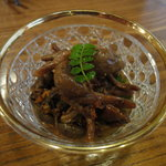 梅の井 - 肝煮630円