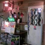 アメリカンレストラン・バー ALAISE - 入口