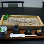 そば処八風 - 料理写真:ざるそば 大盛 (1,000円)
