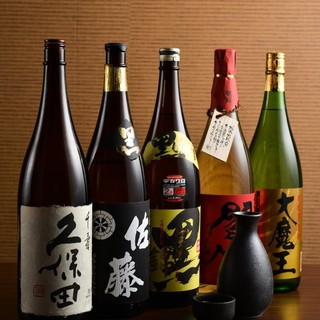 【地酒・焼酎】厳選して取り寄せた地酒と焼酎